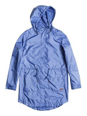 Куртка ROXY. Цвет: темно-синий, серо-голубой, темно-фиолетовый