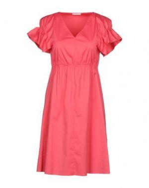 Короткое платье CARLA G.. Цвет: коралловый