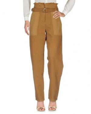 Повседневные брюки VANESSA BRUNO. Цвет: коричневый
