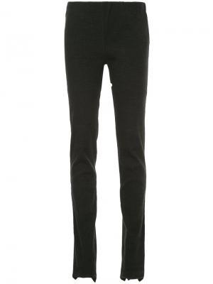 Skinny trousers Uma Wang. Цвет: чёрный