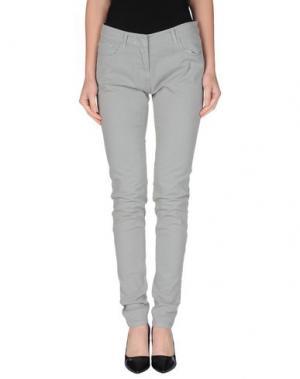 Повседневные брюки LOT 78. Цвет: светло-серый