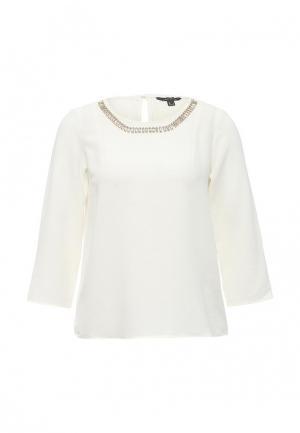 Блуза Cortefiel. Цвет: белый