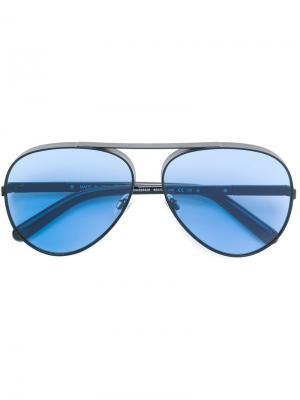 Солнцезащитные очки-авиаторы Ill.I. Цвет: синий