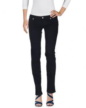 Джинсовые брюки 2W2M. Цвет: темно-синий