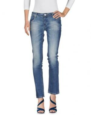 Джинсовые брюки BACI & ABBRACCI. Цвет: синий