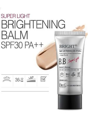ББ крем гипоалергенный увлажняющий легкий SPF30 PA++ (#21), 45 мл. Dr.G. Цвет: белый