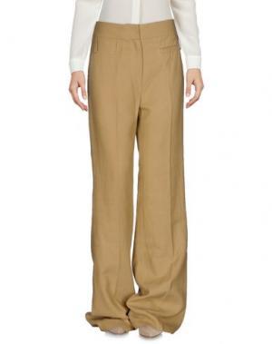 Повседневные брюки VANESSA BRUNO. Цвет: бежевый