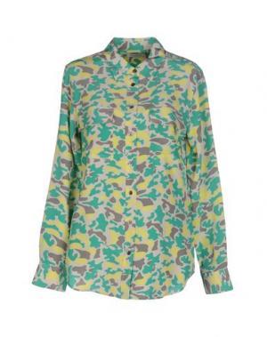 Pубашка EQUIPMENT FEMME. Цвет: светло-зеленый