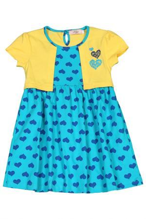 Платье M&D. Цвет: желтый