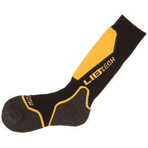 Носки высокие  Sedro Wooley Sock Black Lib Tech. Цвет: черный,желтый