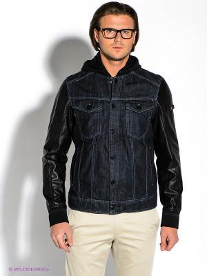 Куртка Strellson. Цвет: темно-синий