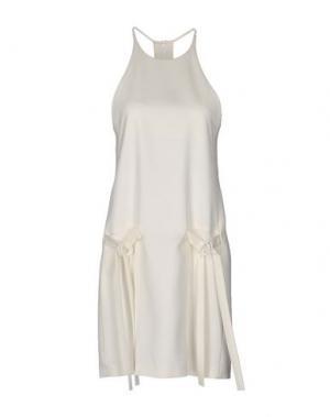 Короткое платье EDUN. Цвет: слоновая кость