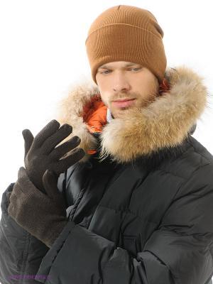 Перчатки Forward. Цвет: темно-коричневый