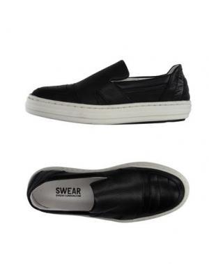 Низкие кеды и кроссовки SWEAR-LONDON. Цвет: черный