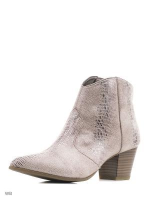 Ботинки Tamaris. Цвет: бледно-розовый