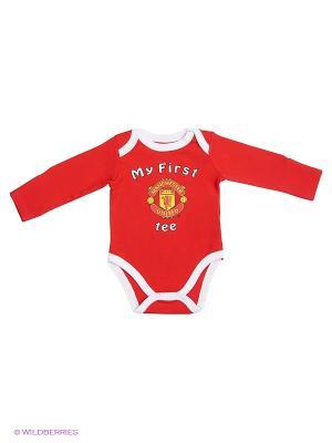 Боди Manchester United FC Atributika & Club. Цвет: красный