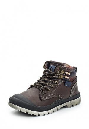 Ботинки Kakadu. Цвет: коричневый