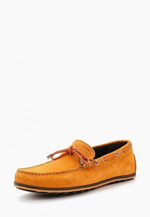 Мокасины Geox. Цвет: оранжевый