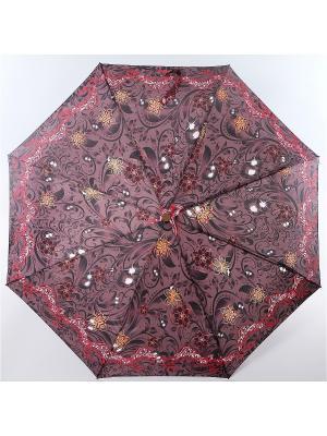 Зонт ArtRain. Цвет: бордовый, коралловый
