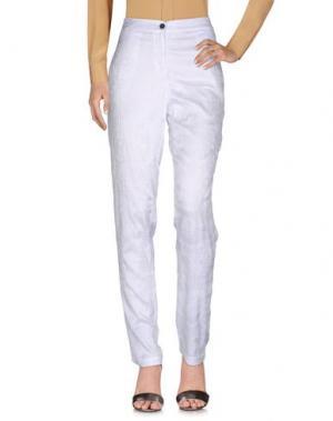 Повседневные брюки PDR PHISIQUE DU ROLE. Цвет: белый