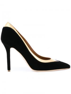 Туфли-лодочки Emmanuelle Malone Souliers. Цвет: чёрный