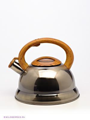 Чайник Bekker. Цвет: светло-коричневый