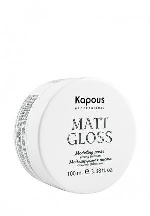 Паста для укладки Kapous. Цвет: белый