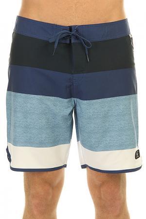 Шорты пляжные DC Advisory 18 Indigo Shoes. Цвет: синий,голубой,белый