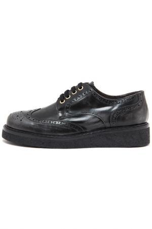 Ботинки PAOLA FERRI. Цвет: черный