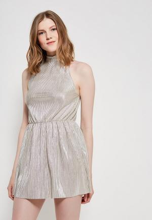 Платье MiraSezar. Цвет: золотой