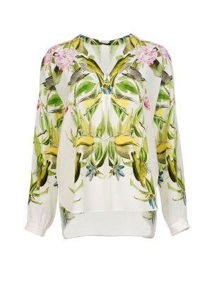 Блуза Iris v Arnim. Цвет: зеленый