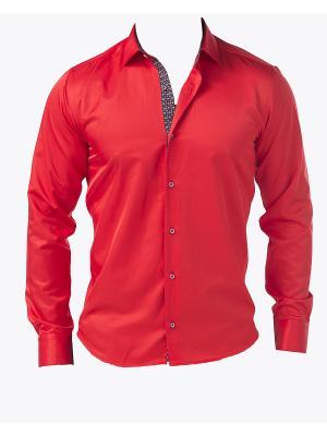 Рубашка BIRIZ. Цвет: красный