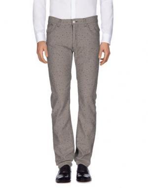 Повседневные брюки GUYA G.. Цвет: голубиный серый