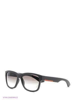 Очки солнцезащитные Prada Linea Rossa. Цвет: антрацитовый