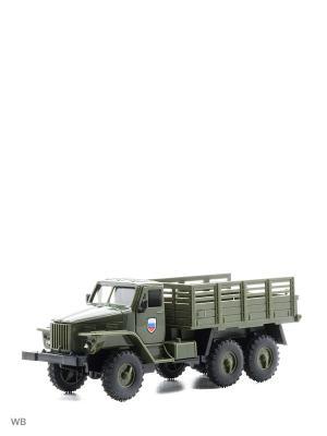 Машина грузовик бортовой кузов Drift. Цвет: зеленый