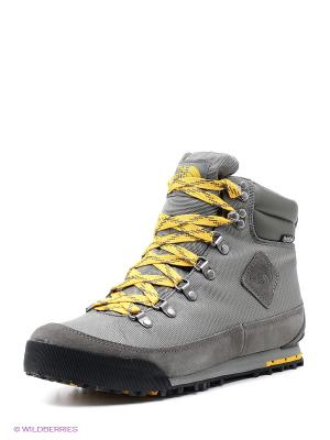 Ботинки The North Face. Цвет: серый