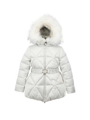 Куртка Pulka. Цвет: молочный