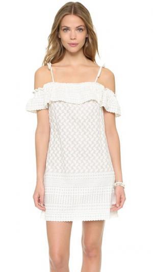 Платье Havana PALOMA BLUE. Цвет: белый