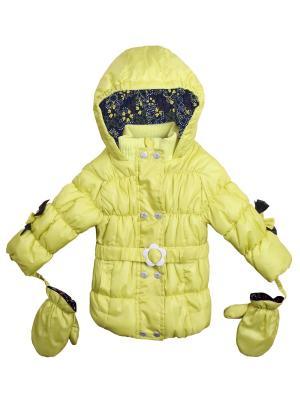 Куртка Coccodrillo. Цвет: желтый