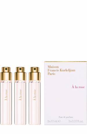 Парфюмерная вода рефилл A la Rose Maison Francis Kurkdjian. Цвет: бесцветный