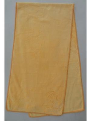 Полотенце для фитнеса A and C Collection. Цвет: оранжевый