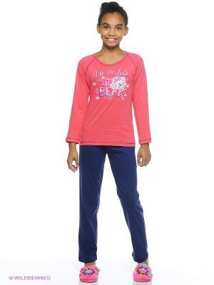 Комплект одежды Vienetta Secret. Цвет: малиновый