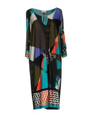 Короткое платье CALALUNA. Цвет: бирюзовый