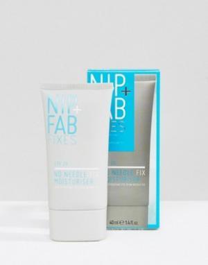 Nip+Fab Увлажняющее средство с SPF 20 No Needle Fix, 40 мл. Цвет: бесцветный