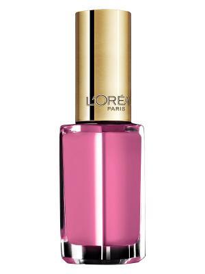 Лак для ногтей Color Riche, оттенок 136, Изящный фламинго, 5 мл L'Oreal Paris. Цвет: розовый