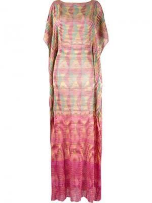 Knit maxi dress Cecilia Prado. Цвет: многоцветный