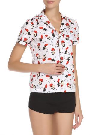 Пижама DSQUARED. Цвет: 110, белый