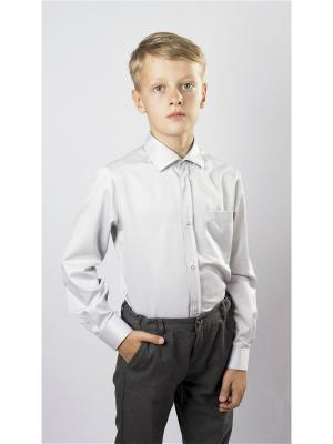 Рубашка OZORNIK. Цвет: светло-серый