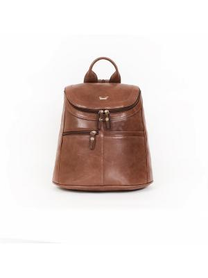 Рюкзак BarBara. Цвет: темно-коричневый