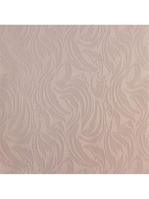 Миниролл Волнистые узоры розовый 60х160 DECOFEST. Цвет: розовый